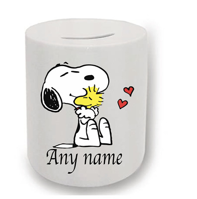 Snoopy Personalised Money Box  • 6.50£