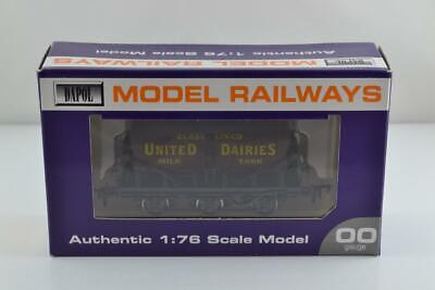 Dapol United Dairies 6 Wheel Milk Tank Wagon Wessex Wagons Bnib Ex Shop Stock • 36.99£