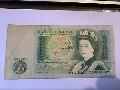 100% Genuine Bank Of England One Pound £1 Note -  Uk Trusted Seller • 2.99£