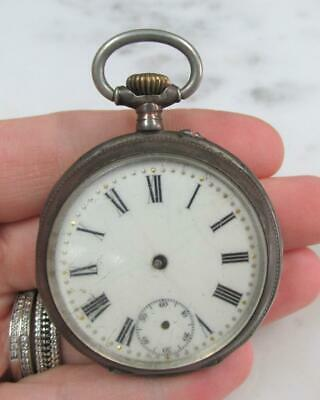 Antique Remontoir Cylindre Watch 'AS IS' ~ 14-G779 • 21.94£