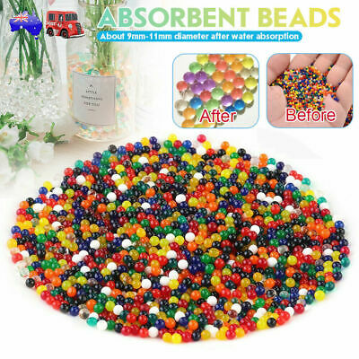 AU25.59 • Buy 50000 Orbeez Water Expanding Balls Jelly Magic Beads Small Jumbo AU STOCK