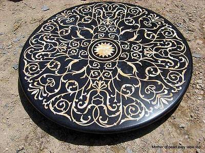 AU1763.38 • Buy 30  Marble Dining Coffee Table Top Mother Of Pearl Inlay Marquetry Gifts Arts