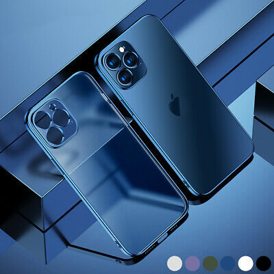 AU9.69 • Buy For IPhone 12 11 Pro Max XS X 8 7 Plus Ultra Thin Matte Soft Silicone Clear Case