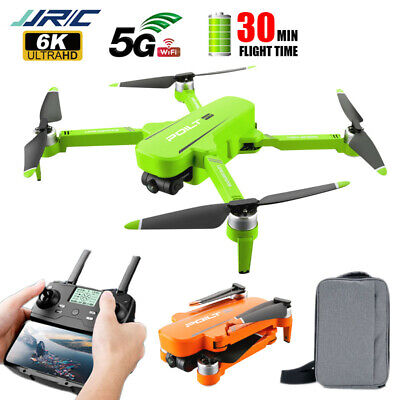 AU256.49 • Buy JJRC X17 RC 5G WIFI Drone With Dual 6K HD Camera GPS Quadcopter 30 Mins Flying
