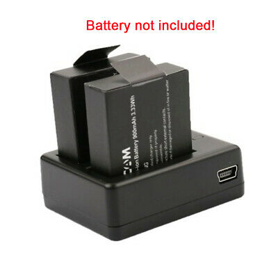 AU12.84 • Buy Double-Groove Battery Charger, For SJ4000/SJ5000/SJ6000 Battery, USB Charger