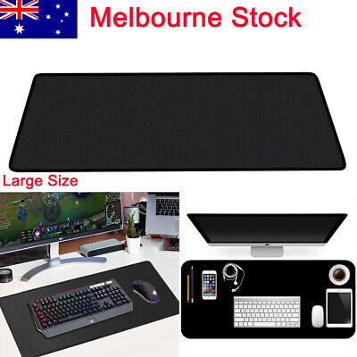 AU14.99 • Buy Large Size Mouse Pad Gaming Desk Mat Extended Rubber Anti-slip Speed Mousepad