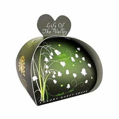 English Soap Company, Luxury Packed Guest Soaps, Lily Of The Valley, 3x20g • 4.99£