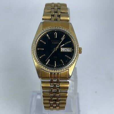 $ CDN51.83 • Buy Vintage Seiko Womens 3Y03-0160 Gold Tone Stainless Steel Band Quartz Watch