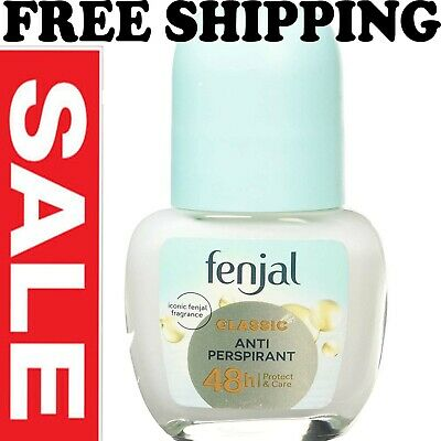 £4.17 • Buy 1X Fenjal Classic Creme Deodorant Roll-On 50ML ***Free Shipping***