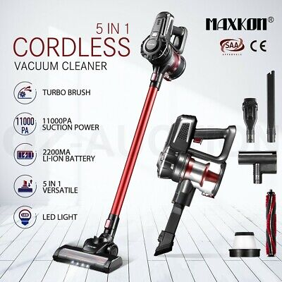 AU109.95 • Buy Maxkon 5in1 Cordless Vacuum Cleaner 11kPa Handheld Stick Cleaner W/HEPA Filter