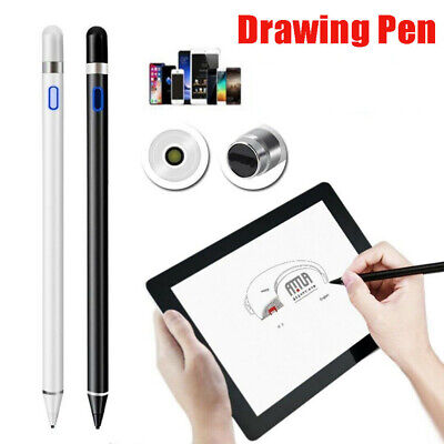 For IPad Stylus Pen Drawing Capacitive Active Touch Screen Rechargeable New • 13.59£