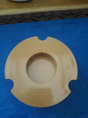 Osma Sewer Pipe Push Fit End Cap - 110mm, 4D296 • 5.25£