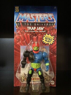 $22.88 • Buy In Hand Masters Of The Universe Origins Motu Trap Jaw Trapjaw Ships Today Unpunc