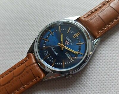 $ CDN31.41 • Buy Seiko 5 Automatic 7009 Day/date Blue Dial Men's Watch In Working Condition