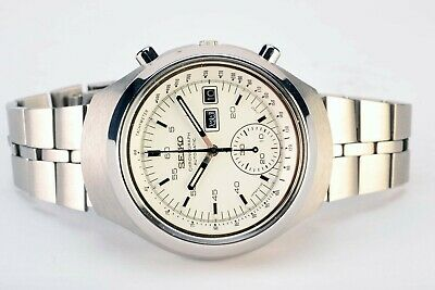 $ CDN852.29 • Buy  Rare Vintage Seiko 6139-7100 Day Date Chronograph Automatic S. Steel Watch