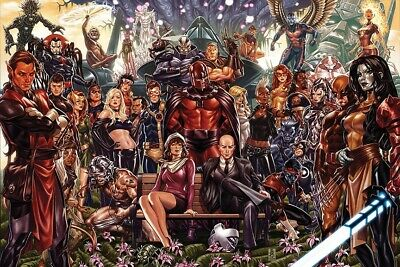 $20 • Buy X-Men Characters Poster 24X36 Inches