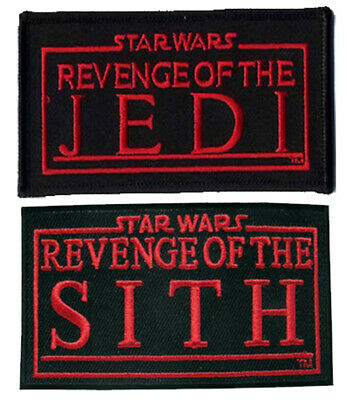 Star Wars Revenge Of The Jedi And Sith Patch Embroidered Sew/Iron On  • 3.99£