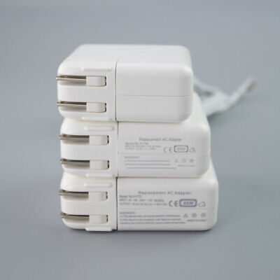 $16.99 • Buy New 45W/60W/85W AC Power Adapter Charger L-Tip/T-Tip For Apple Macbook Air Pro
