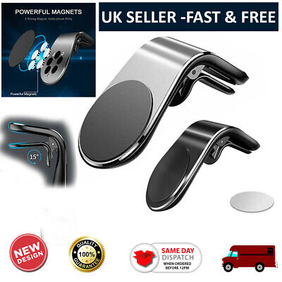 £4.55 • Buy Magnetic In Car Mobile Holder Air Vent Phone Mount For Apple Iphone 12 Mini Pro