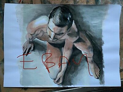 Erotic Nude Male Fine Art Print - A4 (Gay Interest?) • 11£
