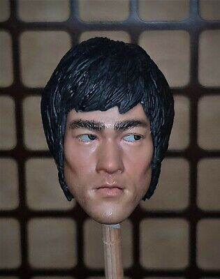 $59.90 • Buy Movable Eyes 1/6 Bruce Lee N96 Head Sculpt Muscle Body Enterbay Enter The Dragon
