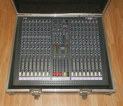 Soundcraft LX7 16 Channel Mixing Desk With Flight Case. UK Postage Only. • 249.99£