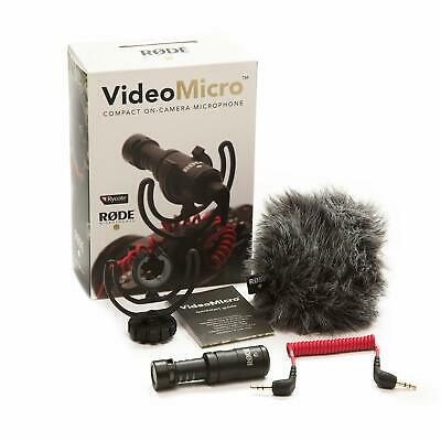 Rode VideoMicro Compact & Lightweight Ride On Camera & Microphone - Red/Black • 65.57£