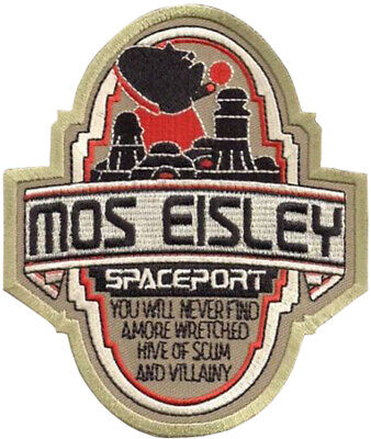 Star Wars Mos Eisley Spaceport You Will Never Find Patch 11.5cm Embroidered • 4.99£