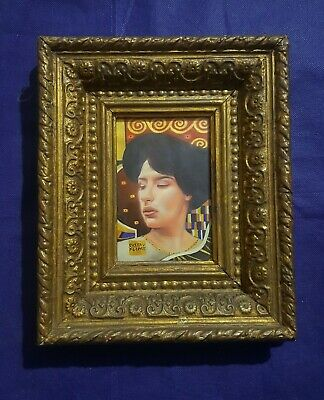 $ CDN500.03 • Buy Gustav Klimt, Woman Portrait On Paper With Frame, Rare, Vintage, Woman