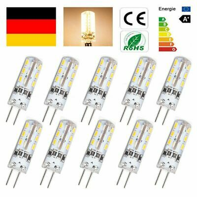 AU7.66 • Buy 10Er G4 Led Lampe 1,5 Watt Warmweiß 12V Dc 24X 3014 Smd G4 Stiftsockel Halogen