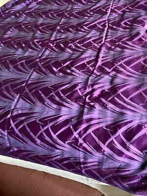 $ CDN11.93 • Buy Vintage Purple Fabric Christmas Tablecloth Unused 56inch X 69 Inch