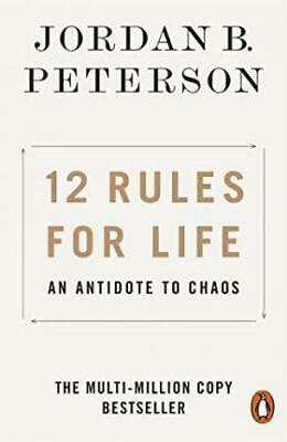 AU17.70 • Buy 12 Rules For Life : An Antidote To Chaos By Jordan B. Peterson Book | NEW AUS
