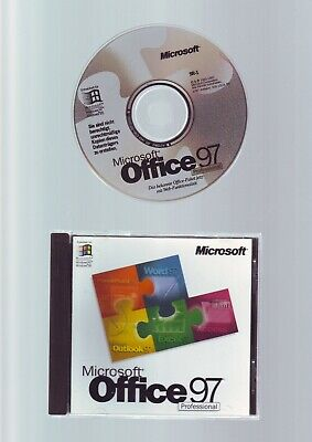 Microsoft Office 97 Professional - Word_access_excel_powerpoint_outlook - German • 9.99£