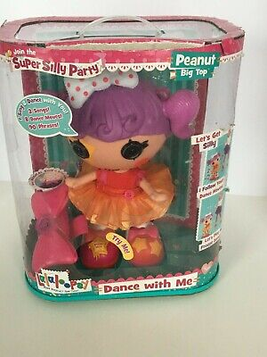 £26.39 • Buy Lalaloopsy Doll Peanut Big Top Super Silly Party Sings Dances Magical Bow Works