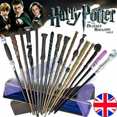 Magic Wand Harry Potter Hermione Dumbledore Voldemort Wand Cosplay Gift Boxed UK • 7.68£