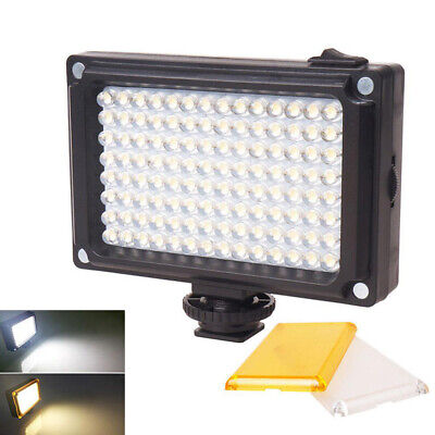 96-led Video Light Photo Studio Shoe Fill Lamp For Dslr Slr Camera Camcorder S • 12.04£