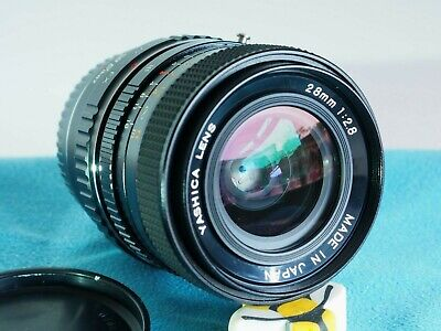 For Fuji X Mount YASHICA ML 28mm F2.8 Fast Lens X-T2, X-A5 Etc • 68£
