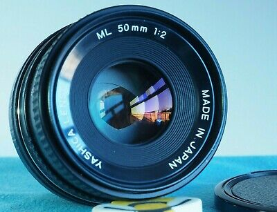 For Fuji X Mount YASHICA ML 50mm F2 Fast Lens X-T4, X-A5 Etc • 67£