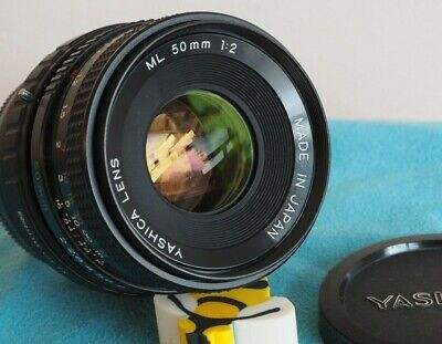 For Fuji X Mount YASHICA ML 50mm F2 Fast Lens X-T2, X-A5 Etc • 74£
