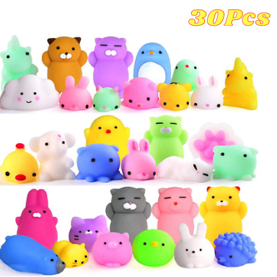 $ CDN10.47 • Buy Mochi Squishy Toys 30Pcs Kids Gift Animal Party Favors Stress Relief Free Shippi