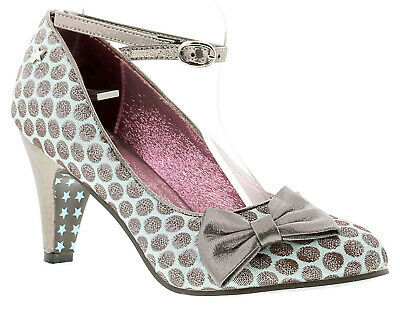 Joe Browns Couture Rochelle Womens Occasion Shoes Pale Blue/Pewter UK Size • 28£