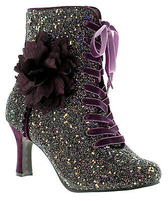 Joe Browns Couture Rebel Couture Boot Womens Ladies Ankle Boots Burgundy UK Size • 35£