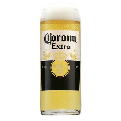Personalised Engraved Branded 1 Pint Corona Extra Lager Beer Glass With Gift Box • 12.95£
