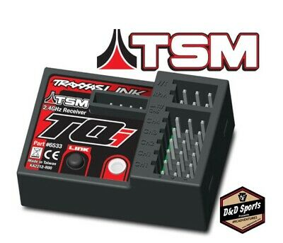 $ CDN50.44 • Buy Traxxas 6533 Receiver Micro TQi 2.4GHz W/ Telemetry & TSM 5ch New