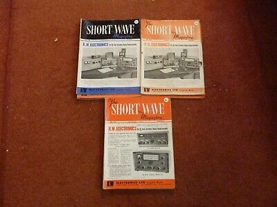 The Short Wave Magazine 1963 The Complete Year 12 Issues • 7£