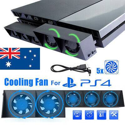 AU23.49 • Buy 5 Fan For PS4 Play Station4 Host Cooling Fan Cooler External Game Accessories AU