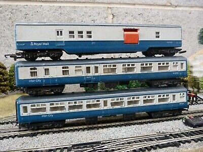 Hornby BR Inter City Mk 2 And Royal Mail Coaches For OO Gauge Model Train Set • 11£