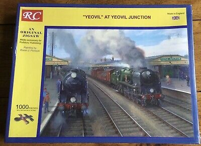Yeovil Steam Engine 1000 Piece Jigsaw Puzzle By RC. • 5£