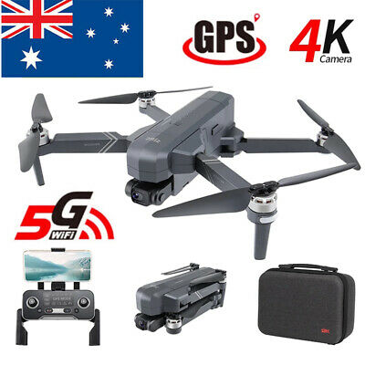 AU334.39 • Buy SJRC F11 Pro RC Drone With 4K HD Camera 5G Wifi FPV GPS Foldable Quadcopter New