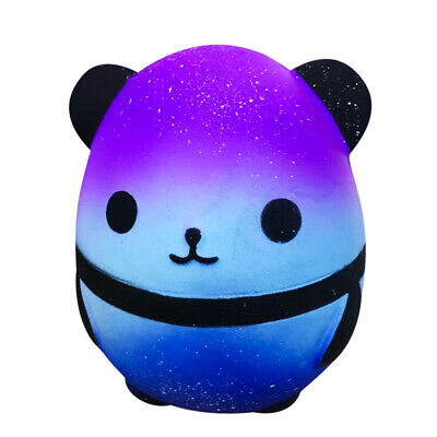 AU17.57 • Buy Jumbo Galaxy Panda Squishy Slow Rising Kids Toys Collect Doll Stress Relief Toy